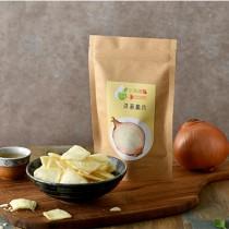 【飲茶嚐點】洋蔥脆片(45g/包)(植物五辛素)